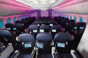 thomson 787 dreamliner cabin