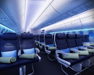 thomson dreamliner cabin